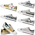 NFL Women's Glitter Low Top Canvas Shoes $39.99 USD on eBay
