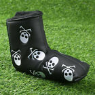 Putter Headcover Golf 1 Pc Black White Skull Golf Club Putter Covers Blade Set