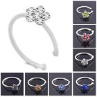 Women's Piercing Jewelry Plum Blossom Nose Ring Nail Thai Style Punk Shiny Bling