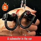K98 Waterproof Shock Bass Stereo Wireless Bluetooth Sport Headset Headphone Nice