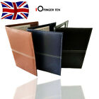 Golf Scorecard Holder PU Leather with 2 Score Sheets Deluxe Book Score Cover UK