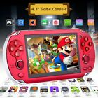 8GB Handheld PSP Game Console Player Built-in Games 4.3'' Portable Consoles