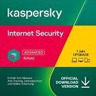 Kaspersky Internet Security 2020 - alle Versionen - 1 oder 2/3 Jahre - Download