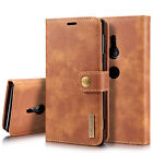 For Sony Xperia XZ1 XZ2 XZ3 X Compact Detachable Leather Wallet Card Holder Case