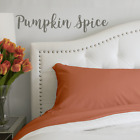 The Original PeachSkinSheets® Breathable Sheet Set: PUMPKIN SPICE image