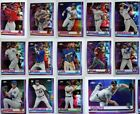 2019 Topps Chrome Pink Refractor Complete Your set #1-204 You Pick on Ebay