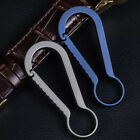 Keychain Key Holder Backpack Hanging Buckle Carabiner Blue/gray Quick Connect