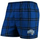 Orlando Magic Concepts Sport Homestretch Flannel Boxer Shorts - Royal on eBay
