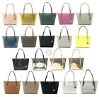 BRAND NEW WOMEN'S MICHAEL KORS CIARA LEATHER PVC LARGE TOP ZIP TOTE BAG HANDBAG image