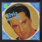 ELVIS PRESLEY: One Night / When My Blue Moon 45 (Denmark, cardboard-backed pict