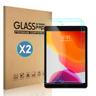 For iPad 10.2 inch 2019 7th Gen Tempered Glass Screen Protector Cover Clear Film