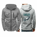 2019 Philadelphia Eagles Fans Hoodie Sporty Jacket Sweater Zip Coat Autumn Tops $15.99 USD on eBay