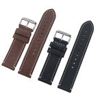 Genuine Leather Watch Band 20 22mm Wrist Strap For Fossil Quick Release Pins USA image