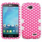 Pattern Design TUFF Hybrid Hard Phone Cover Case Shell For LG D415 Optimus L90