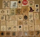 Holiday & Seasonal Mini Rubber Stamps Many Brands & Designs