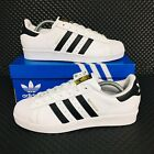 *NEW* Adidas Originals Superstar Men's Athletic Sneakers White Shell Toe Shoes