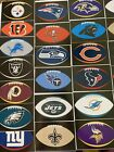 NFL Logo Football Decal Stickers Oval Choose Your Team Sticker Free Shipping $1.29 USD on eBay