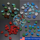 Kyпить Lot Sea Beach Glass Beads Mixed Colors Bulk Blue Red Green Jewelry Pendant   на еВаy.соm