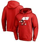 Houston Rockets Fanatics Branded Disney Fly Your Flag Pullover Hoodie - Red on eBay