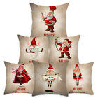 Weihnachten Funny Santa Claus Kissenbezug Xmas Sofa Car Cushion Cover Home Decor günstig