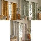 Furn Irwin Woodland Print Eyelet Lined Curtains