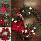 Christmas Artificial Wreath Tree Decoration Ornament Wall Hanging Door Garland
