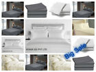 Fitted Bed Sets Flat Sheets 1900 Series 16 Deep Pocket Wrinkel Free 100% Cotton image