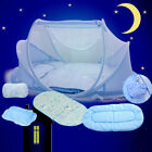 Infant Foldable Newborn Bed Mosquito Net Mesh Canopy Crib Tent Indoor Outdoor image