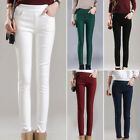 Women Stretchy Winter Thick Penci Leggings Fleece Lined Thermal Skinny Pants