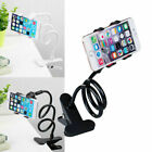 Universal Mobile Cell Phone Holder Mount Desktop Bed Flexible 360°Long Clip Arm
