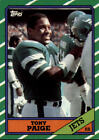 1986 Topps Football You Pick/Choose Cards #1-229 RC Stars ***FREE SHIPPING***Football Cards - 215