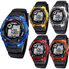 Kids Sport Waterproof Watches Digital Electronic LED Wristwatches Xmas Gift US image