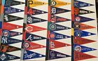 "NEW MLB Baseball Teams Mini Pennants Pick Your Team 4""x9"" 30 Teams Flag Banner"