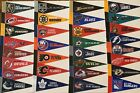 "NEW NHL Hockey Teams Mini Pennants Pick Your Team 4""x9"" 31 Teams Flag Banner $1.49 USD on eBay"