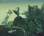 Art Fabric HD Print Oil Painting Max Ernst The Nymph Echo Wall Decor