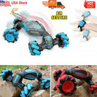 Remote Control Off-Road Gesture Sensing 4WD Double Sided Flip RC Stunt Car Xmas!