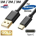 USB-C CABLE for SAMSUNG CELL MOBILE PHONE FAST CHARGER CORD choose 3FT 6FT 10FT