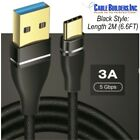 USB-C CABLE 3.1 Gen 1 SUPERSPEED for SAMSUNG MOBILE CELL PHONE FAST CHARGER CORD