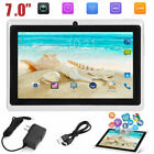 7 inch Android Tablet 4GB Quad Core 4.4 Dual Camera Wifi Bluetooth PAD BEST ON