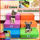 Pet Bed Ladder Cushion Dog Ramp 2 Steps Climb Stair Dog Steps Mesh Washable Sofa