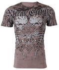 Xtreme Couture by Affliction Short Sleeve T-Shirt Mens ROT Charcoal M-3XL $40