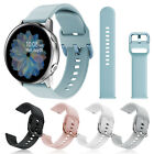 For Samsung Galaxy Watch Active 2 40/44mm Silicone Sport Wrist Band Strap Loop image