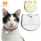 Personalized Engraved Cat Name ID Tag Anti-lost Dog Tag For Cat Collar Accessory