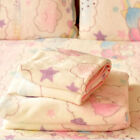 New Sanrio Little Twin Stars Anime Soft Flannel Blanket Throw Plush Smooth Quilt image