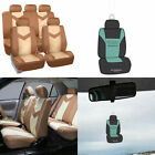 Complete Full Set Seat Covers Set PU Leather for Auto w/ Gift 7 Colors $29.99 USD on eBay