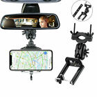 360° Car Rear View Mirror Mount Stand Holder Cradle Universal For Cell Phone GPS
