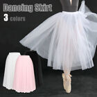 "Romantic Ballet Tutu Net Skirt Dance Costume 31/32"" Long One Size Fits Adults"