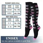 Compression Sports Support Stockings Running Medical Women Mens Socks Calf 1Pair