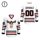 Clark Griswold 00 Chicago Alternate Hockey Jersey moose