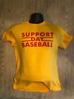 Chicago Cubs Support Day Baseball No Lights In Wrigley Field Retro Shirt 8-8-88 on Ebay